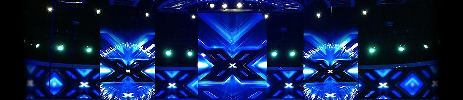 LED screens used in X-factor TV show